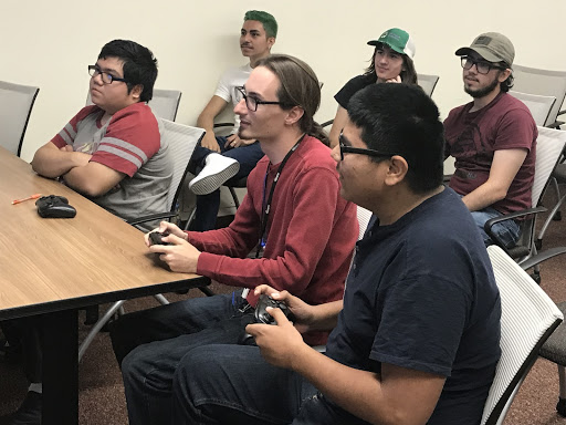 Mario Kart 8 Deluxe tournament competitors and spectators enjoying their time during the Fresno City College hosted event on Tuesday, Oct. 16.