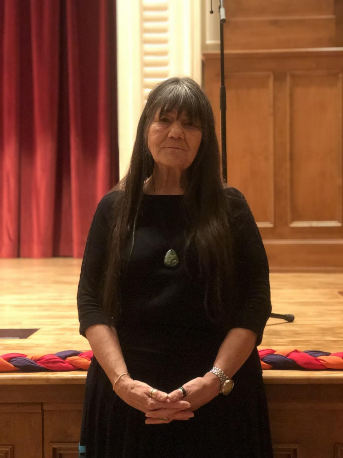 Professional Lakota/ Kiowa Storyteller, Dovie Thomason, speaks at the Fresno City College Auditorium March 6 at 7:30 p.m