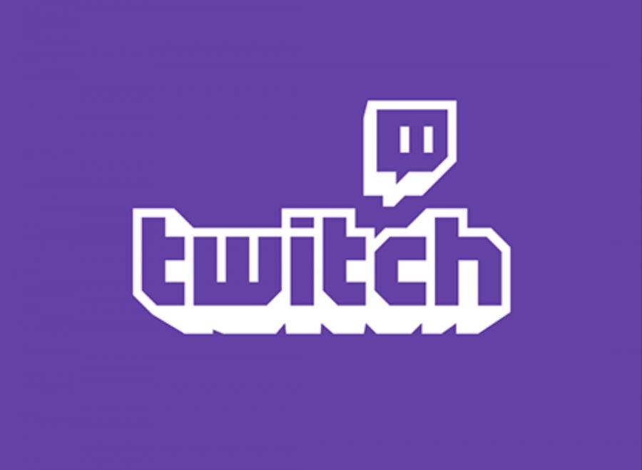 A screenshot of the Twitch logo.