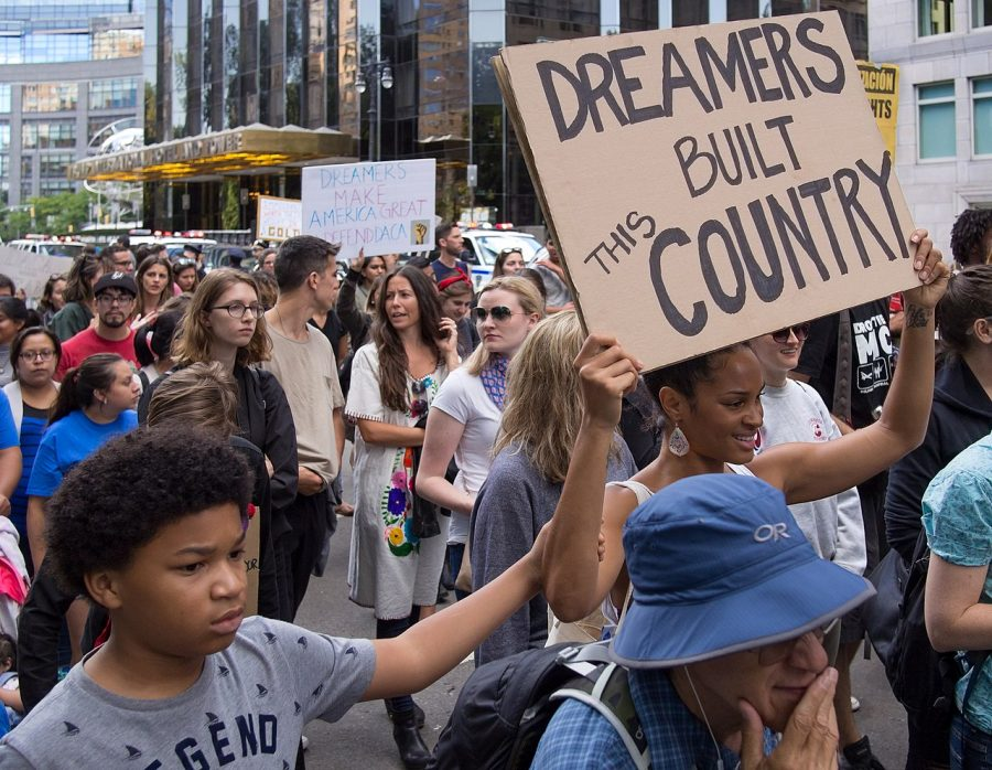 Deferred Action for Childhood Arrivals (DACA) has shielded undocumented youth, including FCC students from deportation. The Trump administration tried to end the program in 2017. Photo courtesy of Wikimedia Commons.