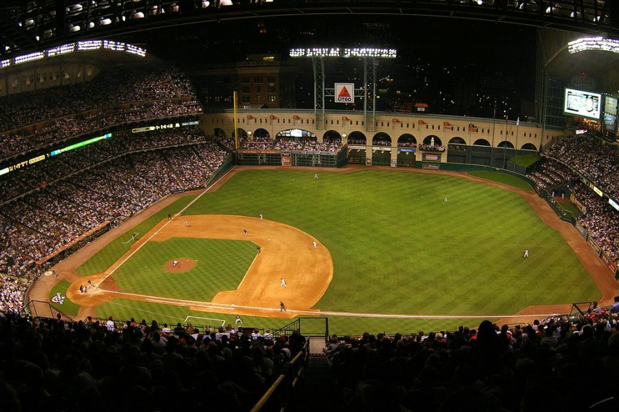 The first game of the World Series kicks off at Minute Maid Park on Oct. 22 2019