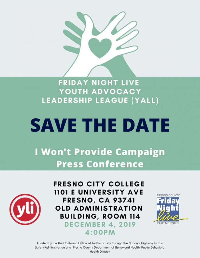 Youth Leadership Institute will host a press conference addressing faculty and students on the issue of underage drinking in the OAB on Wednesday, Dec. 4 at 4 p.m. Image courtesy of Youth Advocacy Leadership League