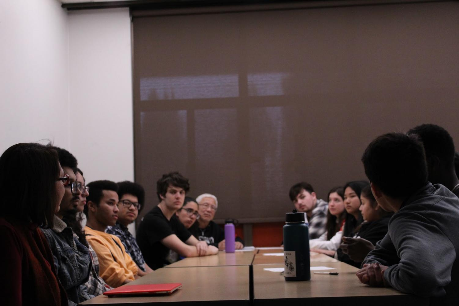 Phi Theta Kappa (PTK) Club held a meeting on Friday, Jan. 24, 2020 in SO-110 to get acquainted with new members and discuss future plans.