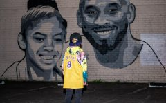 Local Artist Pays Tribute To Kobe and Gianna Bryant