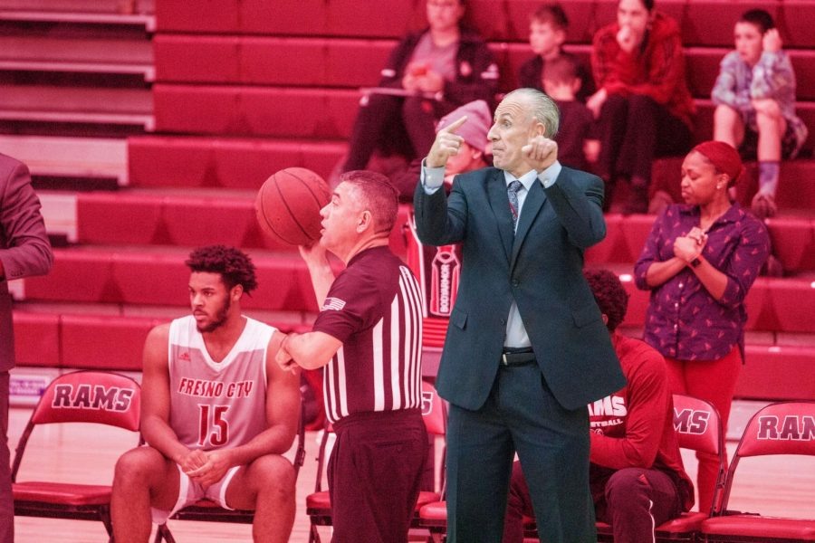 On Wednesday, Feb. 19 Ed Madec coached what could be his final game as the Ram's head coach against the Reedley Tigers. Madec is currently under investigation for possible violations of CCCAA regulations.