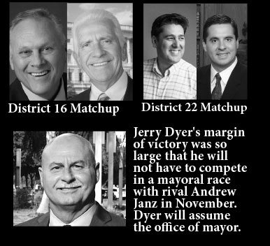 Kevin Cookingham will face Jim Costa, Devin Nunes will face Phil Arballo and Jerry Dyer will be Fresno;s next mayor.