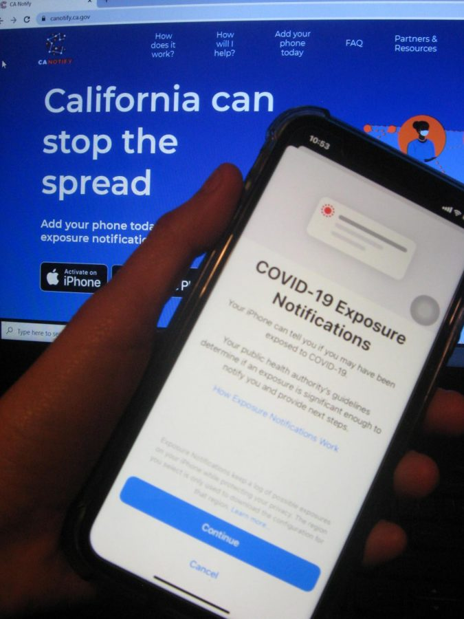 As+COVID-19+cases+continue+to+increase%2C+California+has+introduced+CA+Notify%2C+it%27s+technological+approach+to+slow+the+spread.+