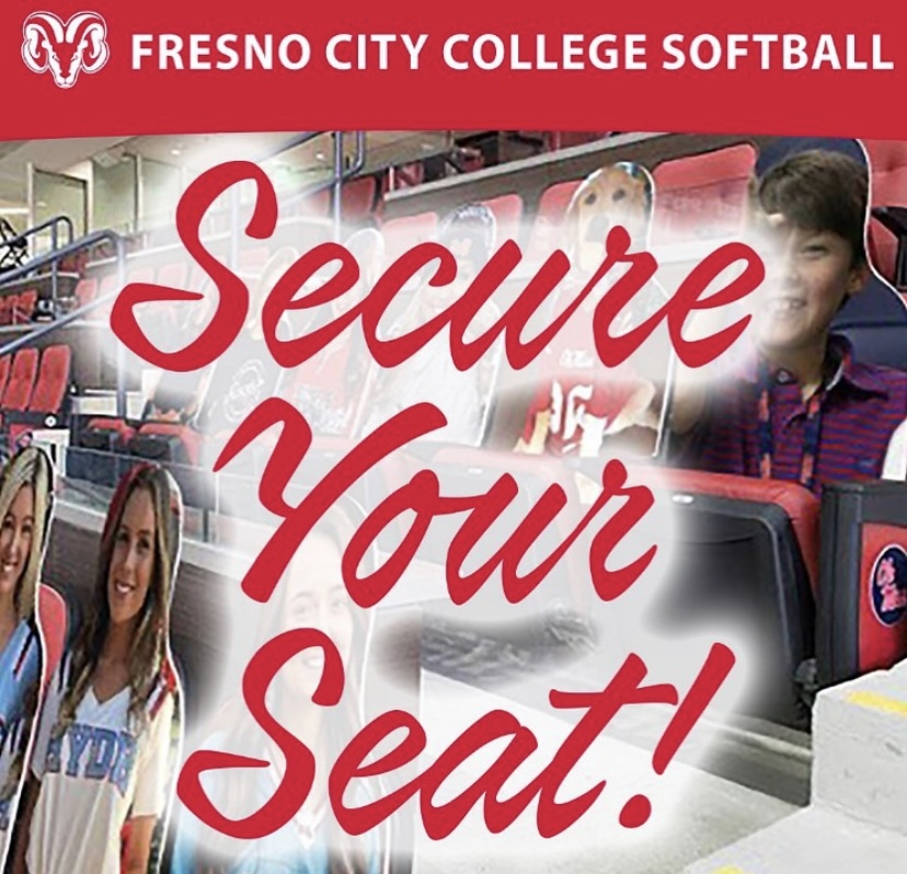 Fresno City College Softball fundraiser flyer.  Photo courtesy: FCC softball's Instagram page