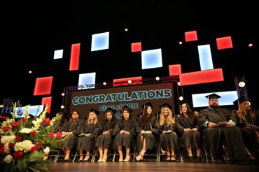 Photo taken at FCC's Registered Nursing Program commencement ceremony in 2018.