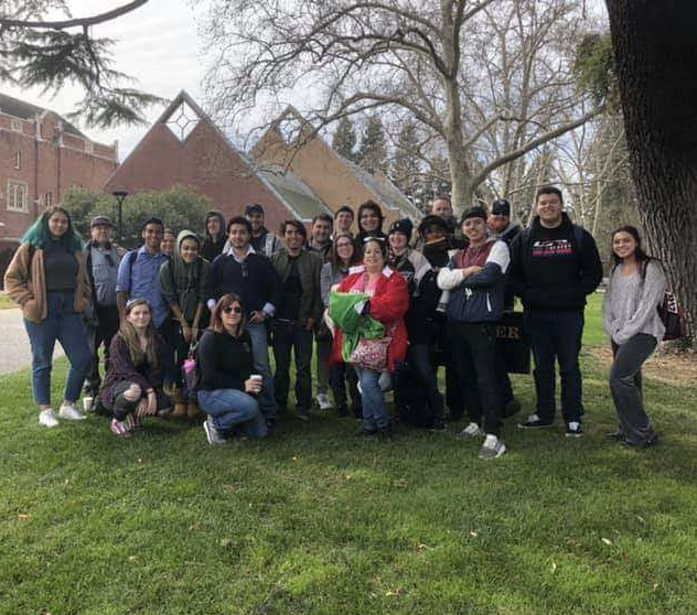 Fresno City College's Debate team trip to University of Pacific in 2019.  Photo courtesy: FCC's Debate team Facebook page