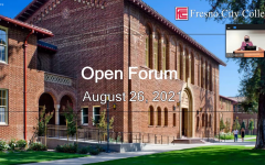 On Thursday Aug. 26, Fresno City College President Carole Goldsmith held the third open forum of the fall 2021 semester.