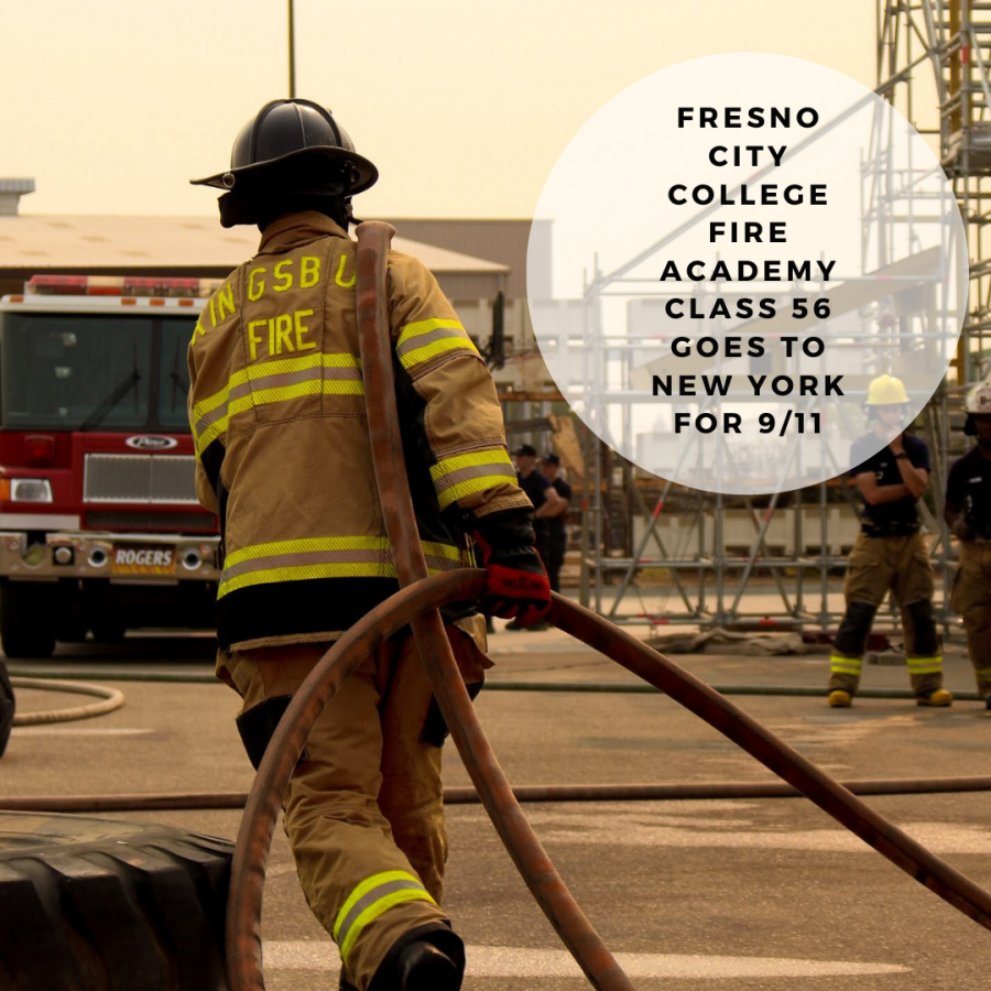Fire+Academy+student+practicing+hose+drills.+