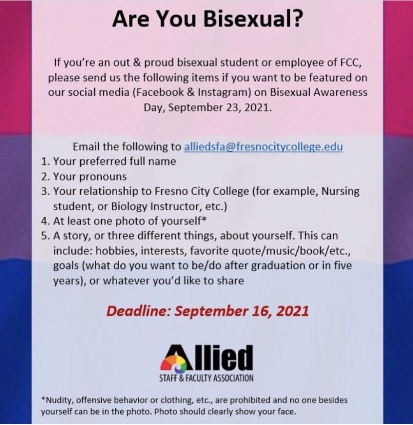 Flyer+detailing+the+Bisexual+Awareness+Day+social+media+project.+Photo+courtesy%3A+Allied+Staff+and+Faculty+Associations+Instagram+page