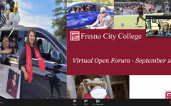 On Friday Sept. 10 Fresno City College President Carole Goldsmith held the fifth open forum of the fall 2021 semester. Image courtesy: FCC Sept. 10 Open Forum.